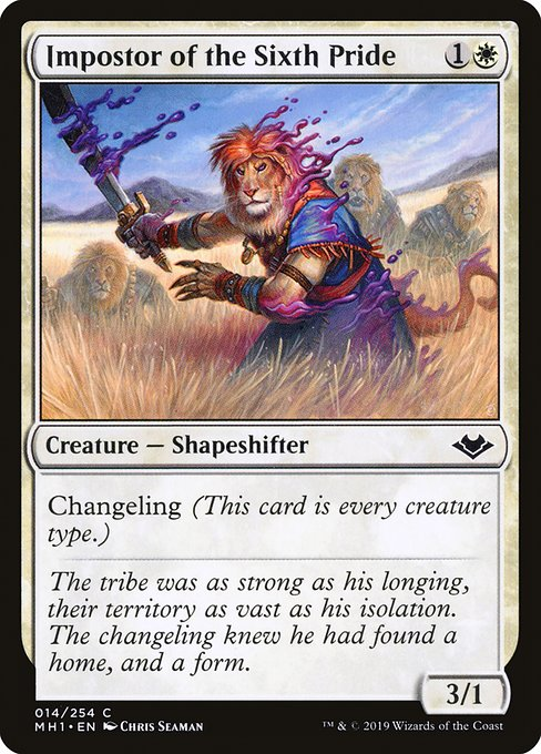 Impostor of the Sixth Pride (MH1)
