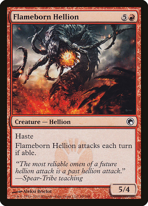 Flameborn Hellion (SOM)