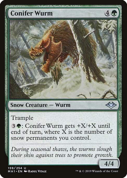 Conifer Wurm (MH1)