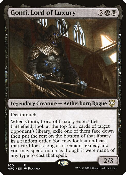 Gonti, Lord of Luxury (AFC)