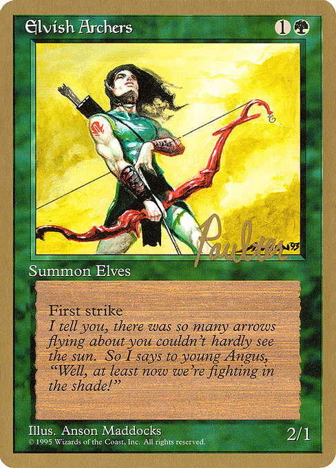 Elvish Archers (PTC)