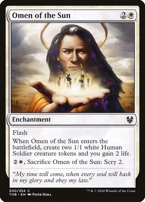 Omen of the Sun (THB)