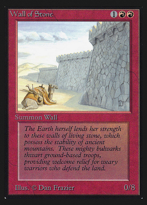 Wall of Stone (CEI)