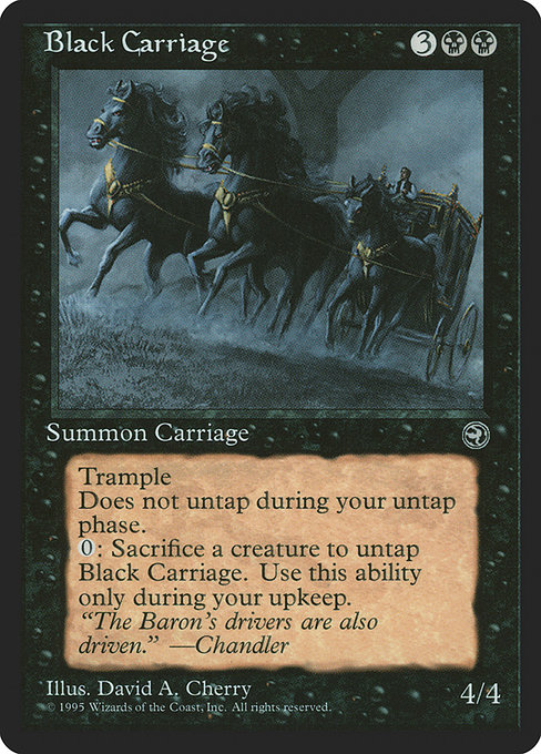 Black Carriage (HML)