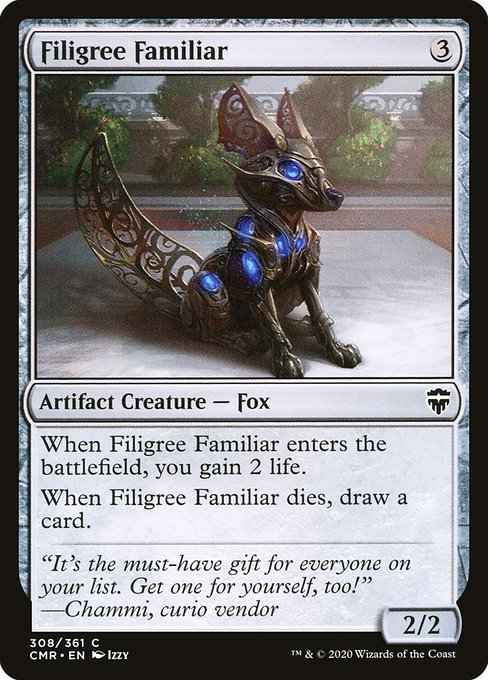 Filigree Familiar (CMR)
