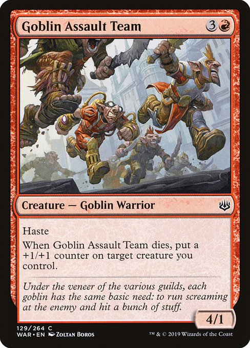 Goblin Assault Team (WAR)