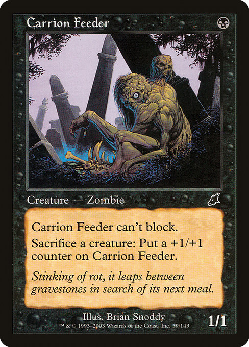 Carrion Feeder (SCG)