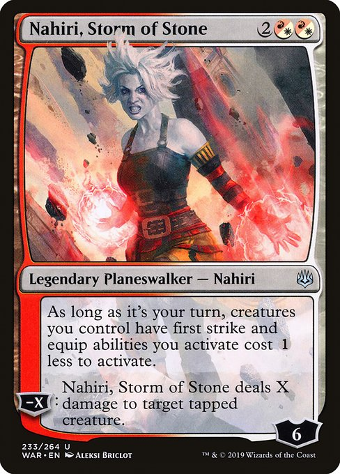 Nahiri, Storm of Stone (WAR)