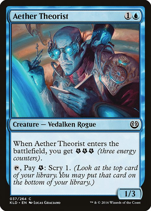 Aether Theorist (KLD)