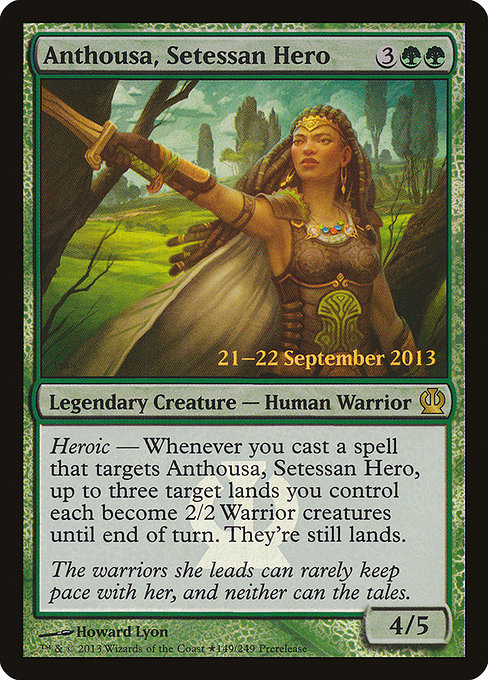 Anthousa, Setessan Hero (PTHS)