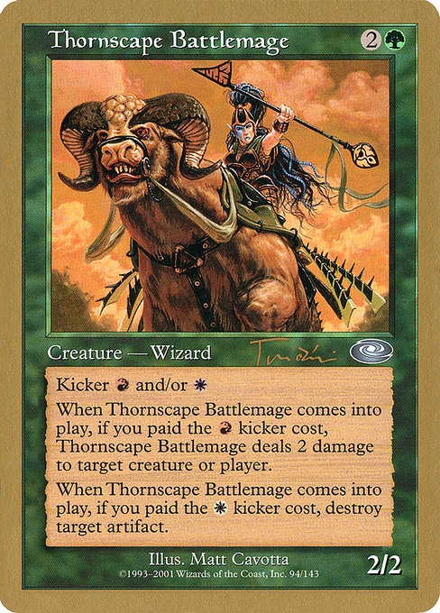Thornscape Battlemage (WC01)
