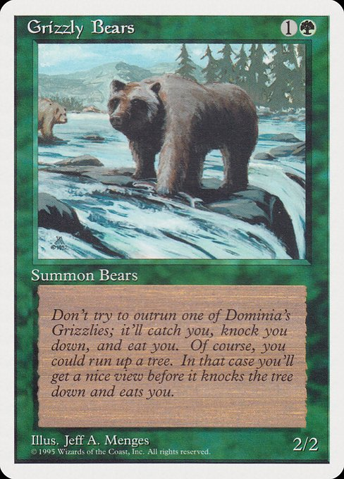 Grizzly Bears (RQS)