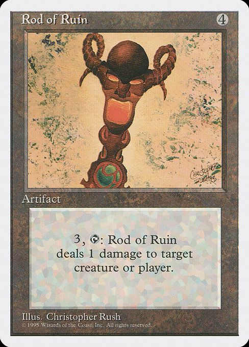 Rod of Ruin (4ED)