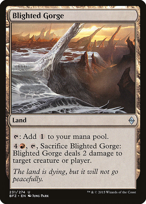 Blighted Gorge (BFZ)