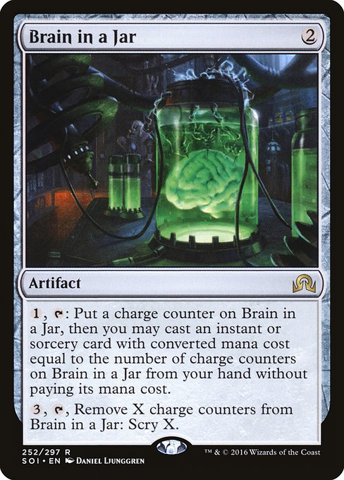 Brain in a Jar (SOI)