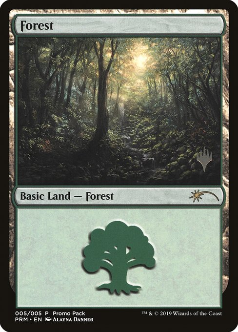 Forest - M20 Promo Packs