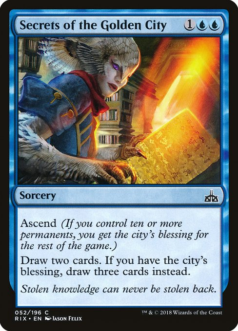 Secrets of the Golden City (RIX)