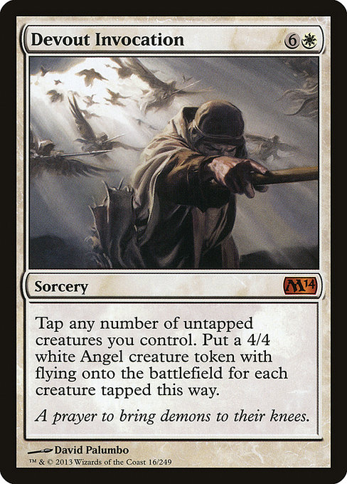 Devout Invocation (M14)