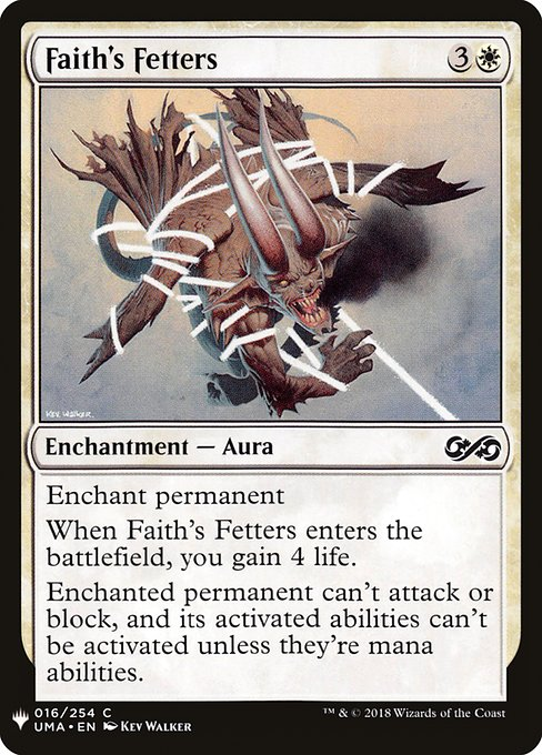 Faith's Fetters (MB1)