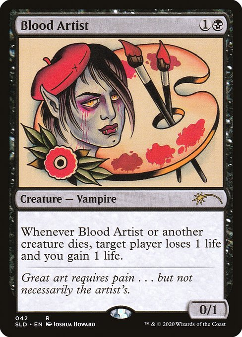 Blood Artist (SLD)