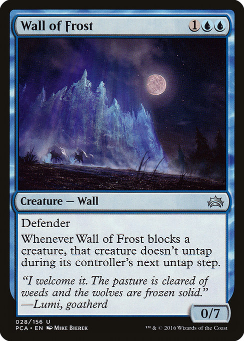 Wall of Frost (PCA)