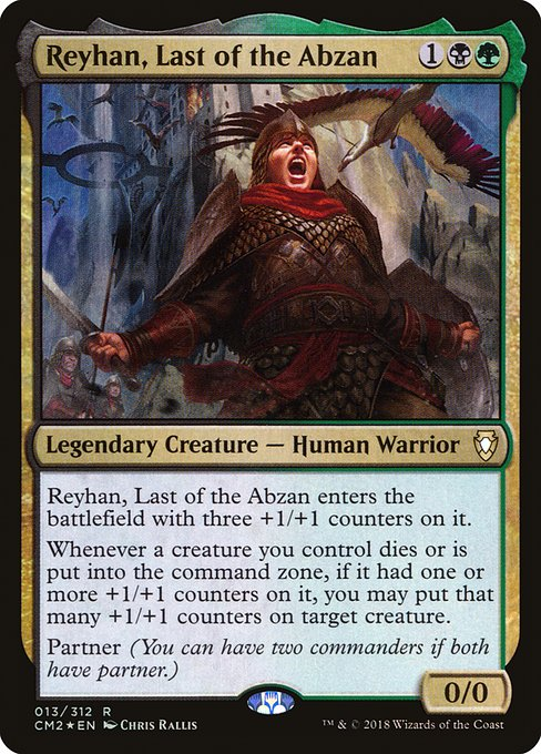 Reyhan, Last of the Abzan (CM2)