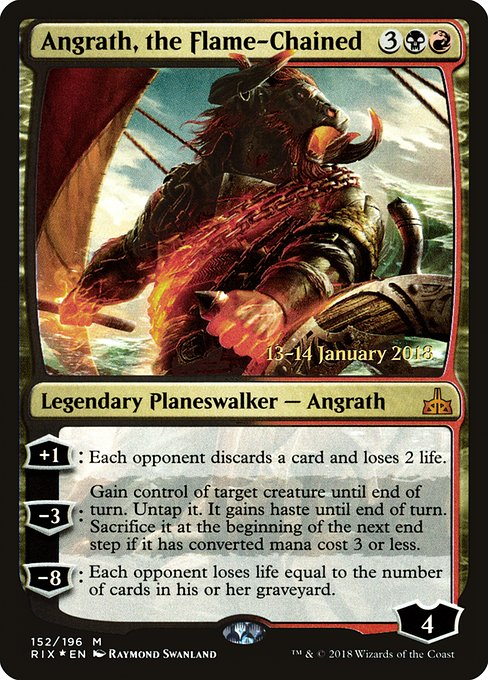 Angrath, the Flame-Chained (PRIX)