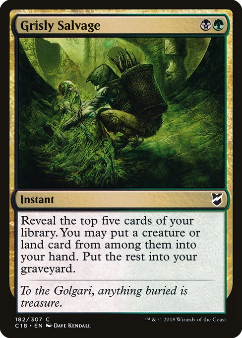 Grisly Salvage (C18)
