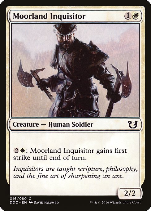 Moorland Inquisitor (DDQ)