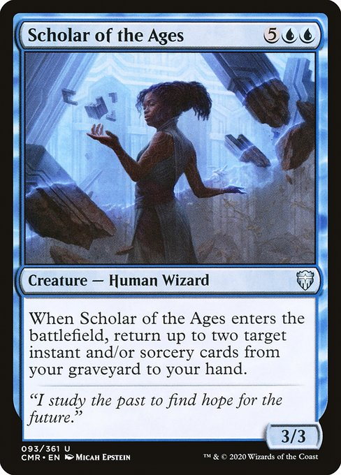 Scholar of the Ages (CMR)