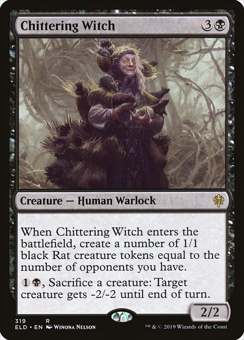 Chittering Witch (ELD)