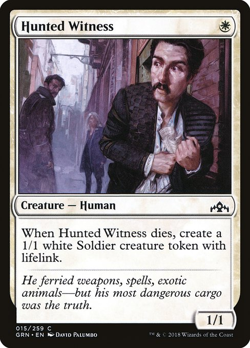 Hunted Witness (GRN)