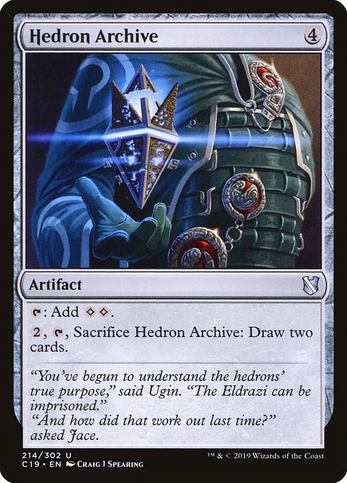 Hedron Archive (C19)