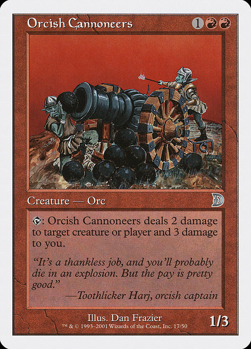 Orcish Cannoneers (DKM)