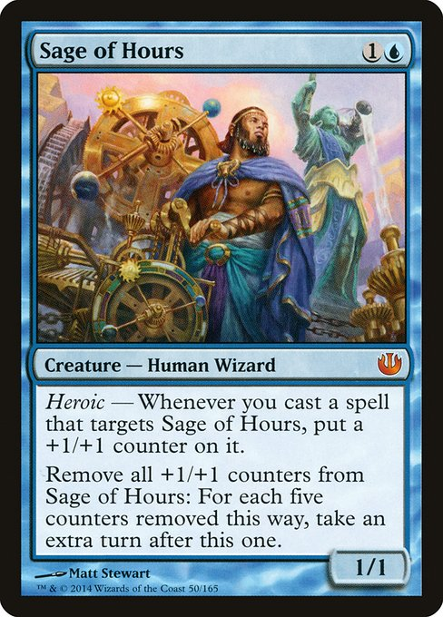 Sage of Hours Magic: the Gathering 50//165 - Journey into Nyx by Magic: the Gathering