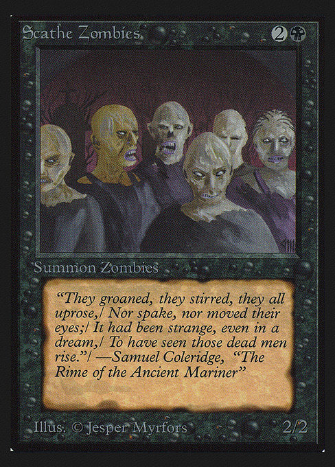 Scathe Zombies (CED)