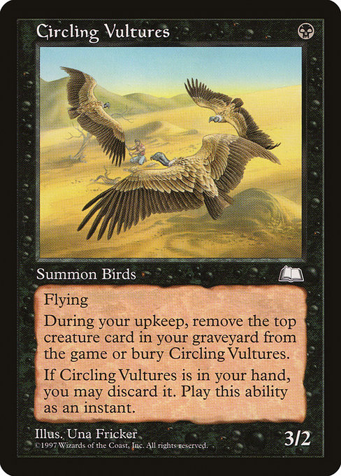 Circling Vultures (WTH)
