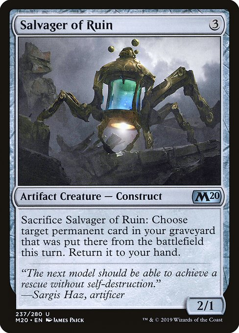 Salvager of Ruin (M20)