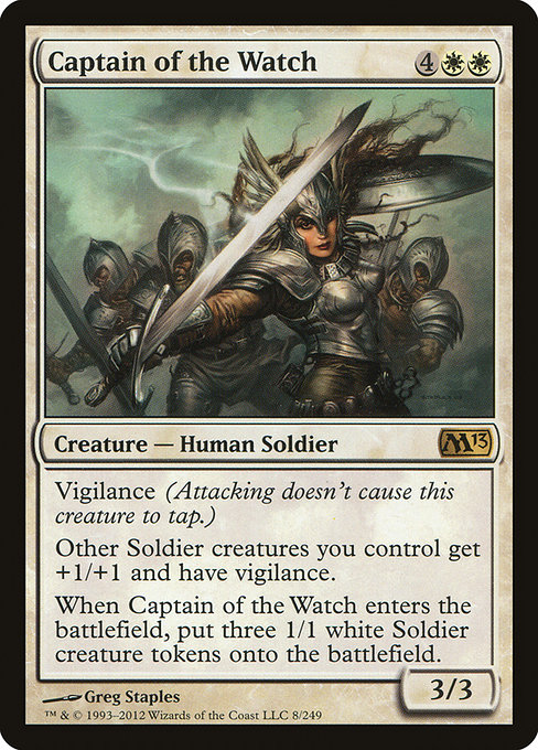 Captain of the Watch (M13)