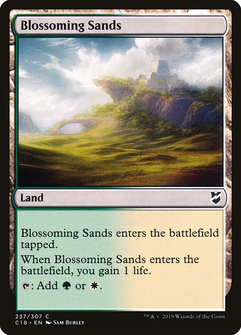 Blossoming Sands (C18)