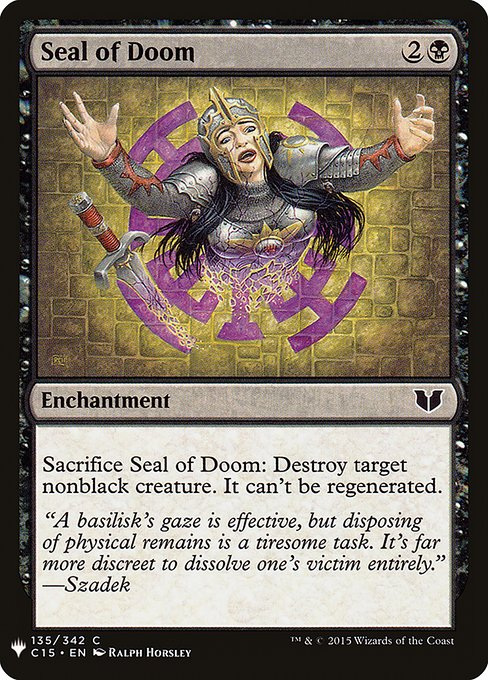 Seal of Doom (MB1)