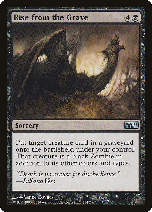 Rise from the Grave (M11)