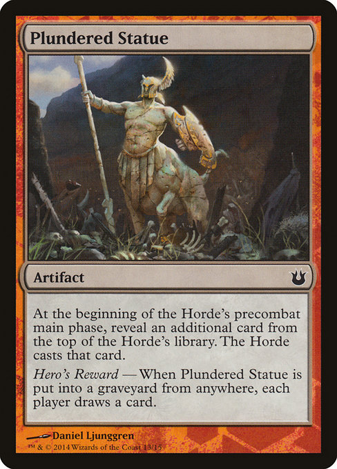 Plundered Statue (TBTH)