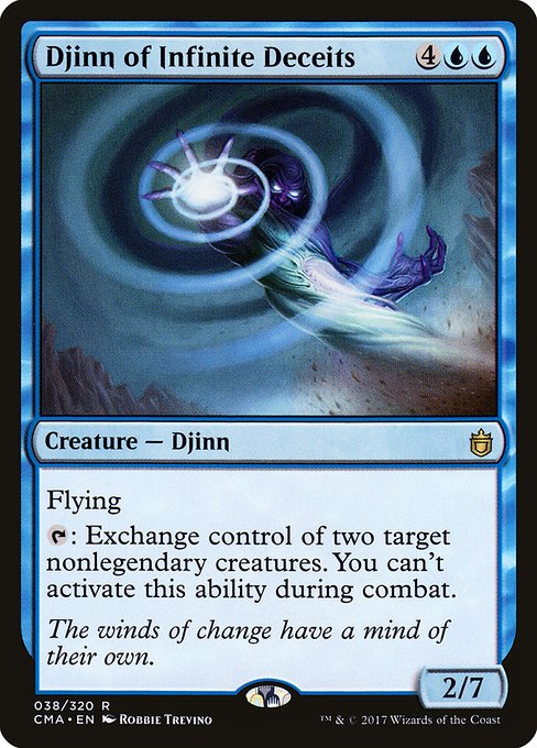 Djinn of Infinite Deceits (CMA)