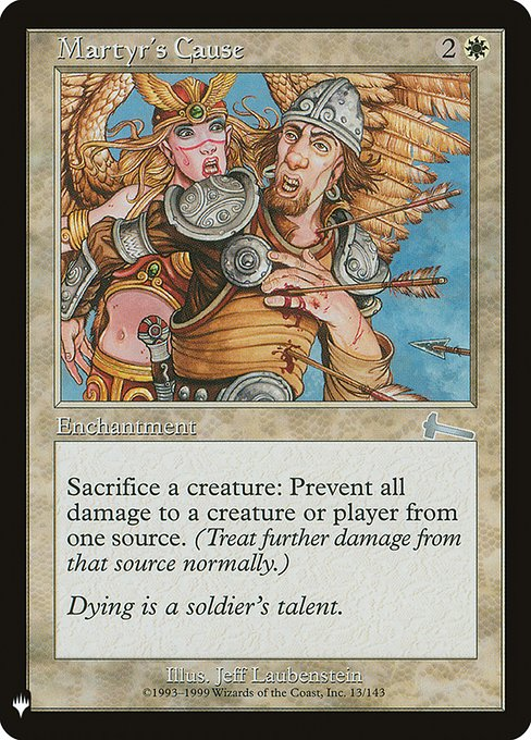 Martyr's Cause (MB1)