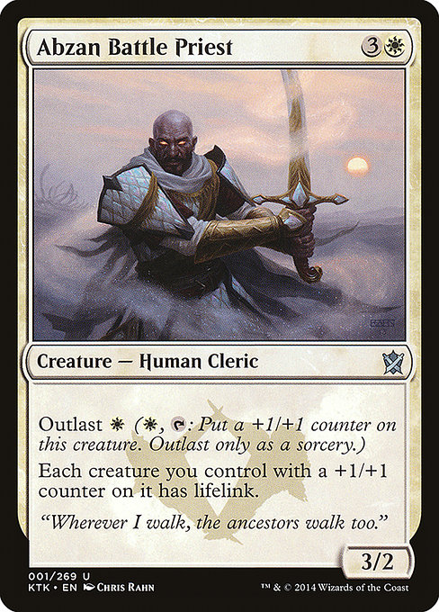 Abzan Battle Priest (KTK)
