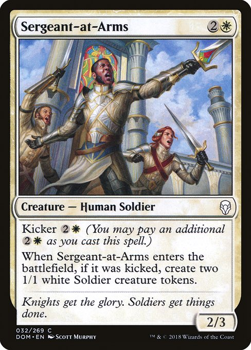 EDHREC - Sergeant-at-Arms (Card)