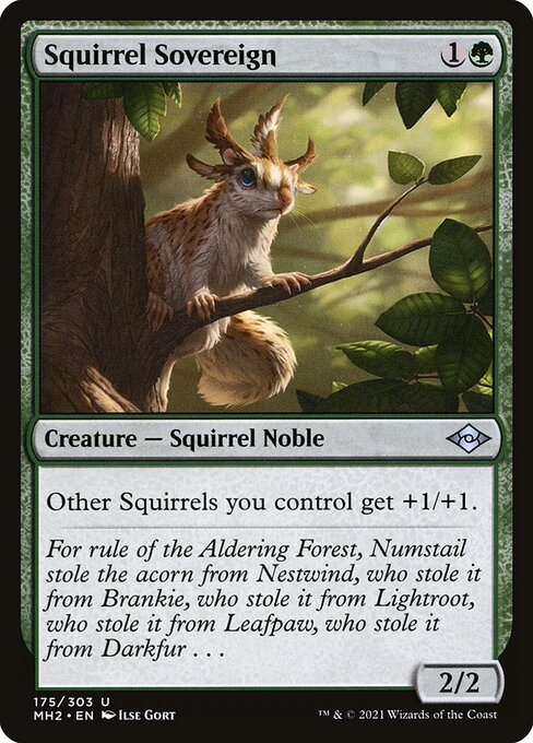 Squirrel Sovereign (MH2)