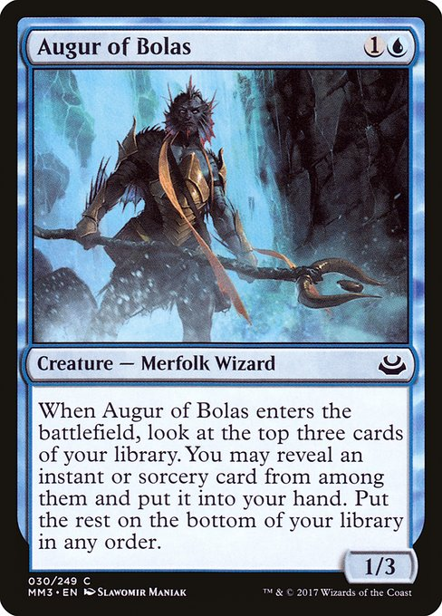Augur of Bolas (MM3)