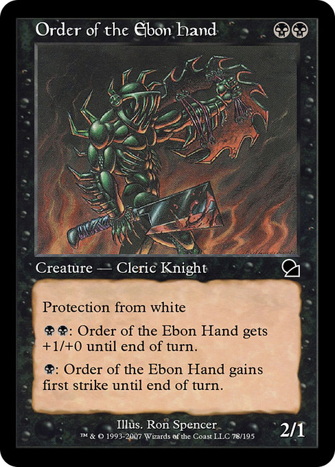 Order of the Ebon Hand (ME1)